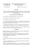 Quyết định số 4132/QĐ-UBND TP HàNội