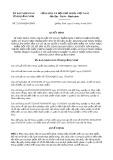 Quyết định số 21/2019/QĐ-UBND tỉnh Quảng Ninh