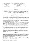 Quyết định số 1230/QĐ-UBND tỉnh BếnTre