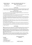 Quyết định số 1580/QĐ-UBND tỉnh AnGiang