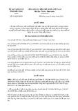 Quyết định số 951/QĐ-UBND tỉnh ĐắkNông