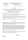 Quyết định 421/QĐ-UBND tỉnh KonTum