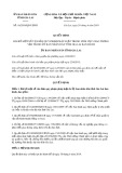 Quyết định số 16/2019/QĐ-UBND tỉnh Gia Lai