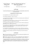 Quyết định số 1308/QĐ-UBND tỉnh TâyNinh