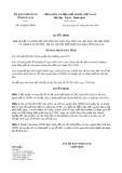 Quyết định 342/QĐ-UBND tỉnh Gia Lai