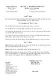 Quyết định số 22/2019/QĐ-UBND tỉnh Cà Mau