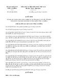 Quyết định số 1047/QĐ-UBND tỉnh CaoBằng