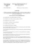 Quyết định số 19/2019/QĐ-UBND TP Hải Phòng