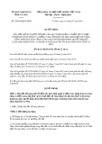 Quyết định 29/2019/QĐ-UBND tỉnh Cà Mau