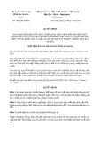 Quyết định số 1841/QĐ-UBND tỉnh AnGiang