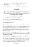 Quyết định số 19/2019/QĐ-UBND tỉnh Thanh Hóa