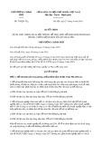 Quyết định số 793/2019/QĐ-TTg