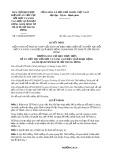 Quyết định số 130/QĐ-BCĐGĐTP