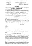 Quyết định số 2233/QĐ-UBND tỉnh Bình Định