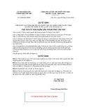 Quyết định số 1362/QĐ-UBND tỉnh Cần Thơ