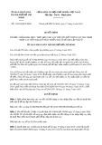 Quyết định 15/2019/QĐ-UBND TP HCM