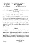 Quyết định số 11/2019/QĐ-UBND tỉnh Đồng Tháp