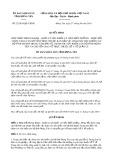 Quyết định 23/2019/QĐ-UBND tỉnh Hưng Yên