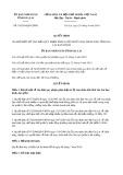 Quyết định 18/2019/QĐ-UBND tỉnh Gia Lai
