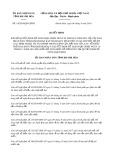 Quyết định 14/2019/QĐ-UBND tỉnh Khánh Hòa