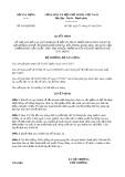Quyết định số 655/QĐ-BXD
