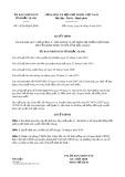 Quyết định số 14/2019/QĐ-UBND tỉnh Bắc Giang