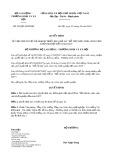 Quyết định số 929/QĐ-LĐTBXH