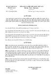 Quyết định số 11/2019/QĐ-UBND tỉnh Hà Nam