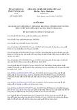 Quyết định 246/QĐ-UBND tỉnh TuyênQuang