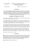 Quyết định số 387/QĐ-UBDT
