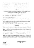 Quyết định 27/2019/QĐ-UBND tỉnh Long An
