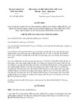 Quyết định số 1547/QĐ-UBND tỉnh TháiBình