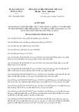 Quyết định 12/2019/QĐ-UBND tỉnh Lai Châu