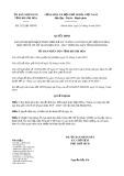 Quyết định số 2123/QĐ-UBND tỉnh KhánhHòa