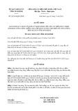 Quyết định 20/2019/QĐ-UBND tỉnh Ninh Bình