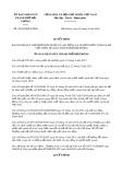 Quyết định số 28/2019/QĐ-UBND TP Hải Phòng
