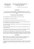 Quyết định 24/2019/QĐ-UBND tỉnh Vĩnh Phúc
