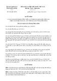 Quyết định số 1926/QĐ-UBND tỉnh QuảngBình