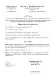 Quyết định 585/QĐ-UBND tỉnh KonTum