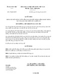 Quyết định số 357/QĐ-UBDT