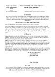 Quyết định 39/2019/QĐ-UBND tỉnh Thừa Thiên Huế