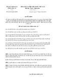 Quyết định 26/2019/QĐ-UBND tỉnh Long An