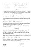 Quyết định 635/QĐ-UBND tỉnh GiaLai