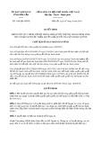 Quyết định số 1369/QĐ-UBND tỉnh ĐắkLắk