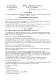 Quyết định số 1668/QĐ-UBND tỉnh ThừaThiênHuế