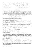 Quyết định 31/2019/QĐ-UBND tỉnh Long An