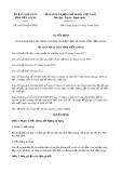 Quyết định số 19/2019/QĐ-UBND tỉnh Tiền Giang