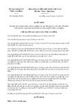 Quyết định số 1048/QĐ-UBND tỉnh CaoBằng
