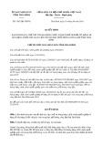 Quyết định số 1567/QĐ-UBND tỉnh TháiBình