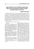 Ảnh hưởng của tư tưởng Trung Hoa đến gia giáo Huế dưới triều Nguyễn qua hệ thống thư tịch